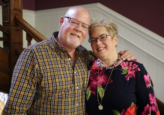 Joe and Ruby Wells are retiring as owners of Gabriel Furniture in downtown Appleton.