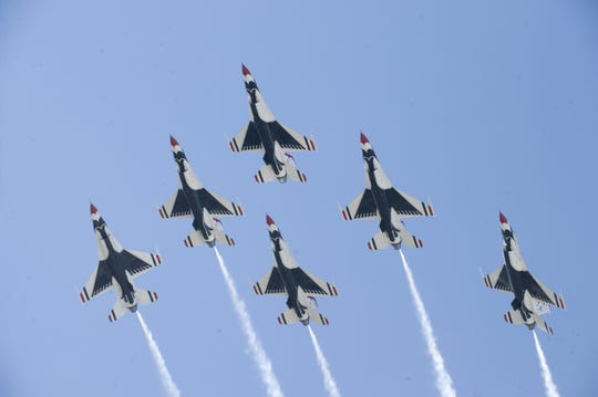 The Atlantic City Air Show on Aug. 21 will once again feature the U.S. Air Force Thunderbirds.