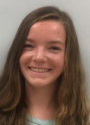Student Voices winner, Alexa Rossi of Point Pleasant Borough High School.