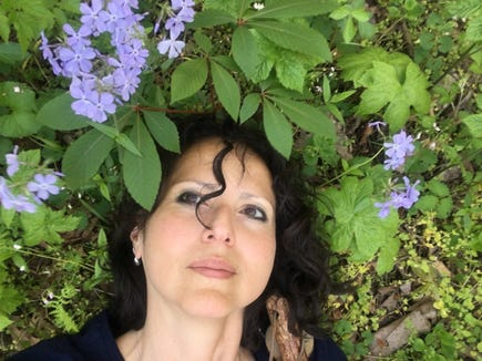 Citizen Times outdoors reporter Karen Chávez gets stress detox at the Botanical Gardens at Asheville.