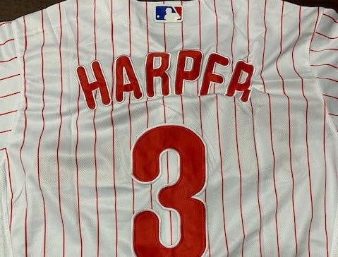Foul ball: Customs officers catch counterfeit Bryce Harper jerseys