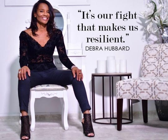 Debra Hubbard trademarked the phrase 'Black Don't Crack' because she felt it captured her brand of resiliency.