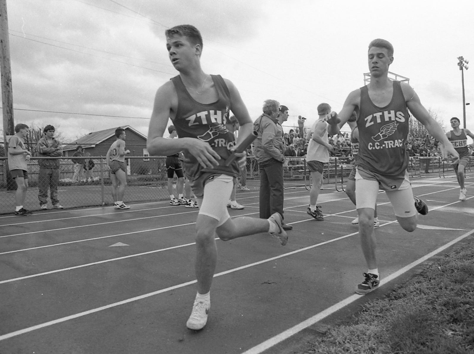 The Paint Valley Invitational in May 1993.