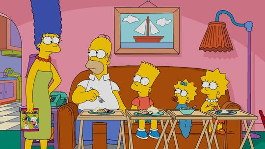 """The Simpsons first appeared on """"The Tracey Ullman Show"""" before spinning off in their own series in the 1990s."""