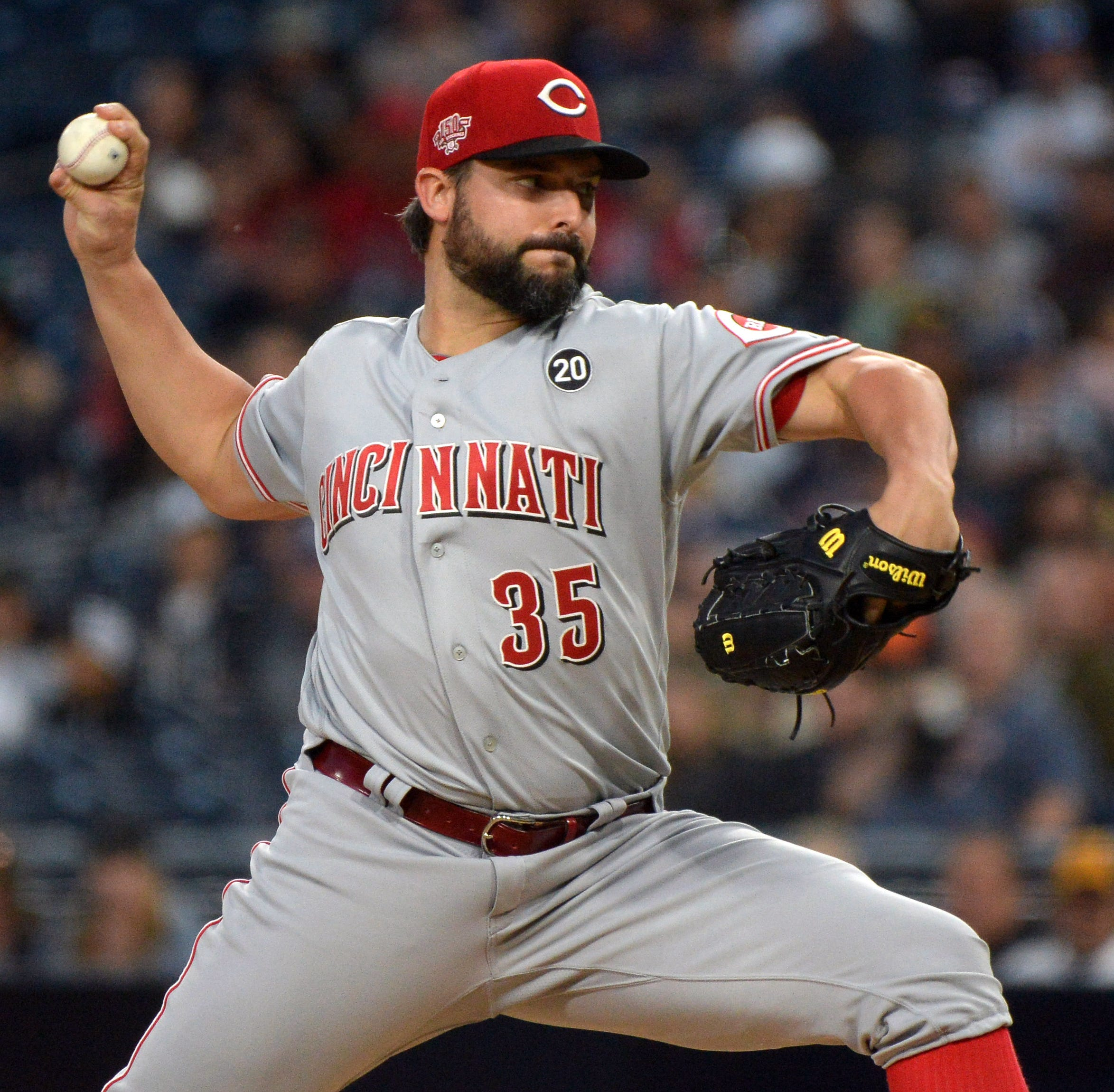 Despite record, Cincinnati Reds' starting rotation has exceeded expectations