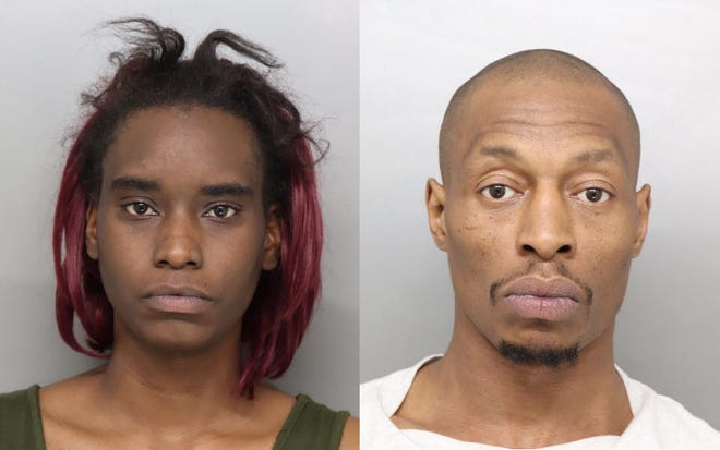 Shiona Hughes, 27, and Larry Mitchell, 41, have been charged with felonious assault in connection to an April 15 shooting.