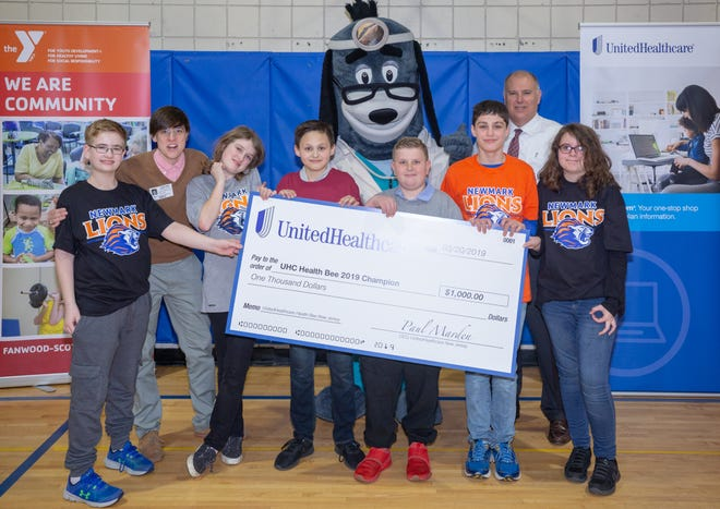 UnitedHealthcare awarded Newmark Middle School $1,000 grand prize.