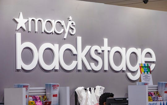 Macy's Backstage has opened at the Macy's location in Menlo Park Mall.