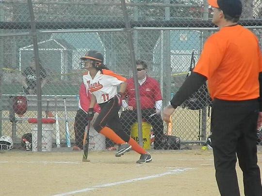 East Brunswick Tech softball hosts Mother Seton on Thursday, April 18, 2019.