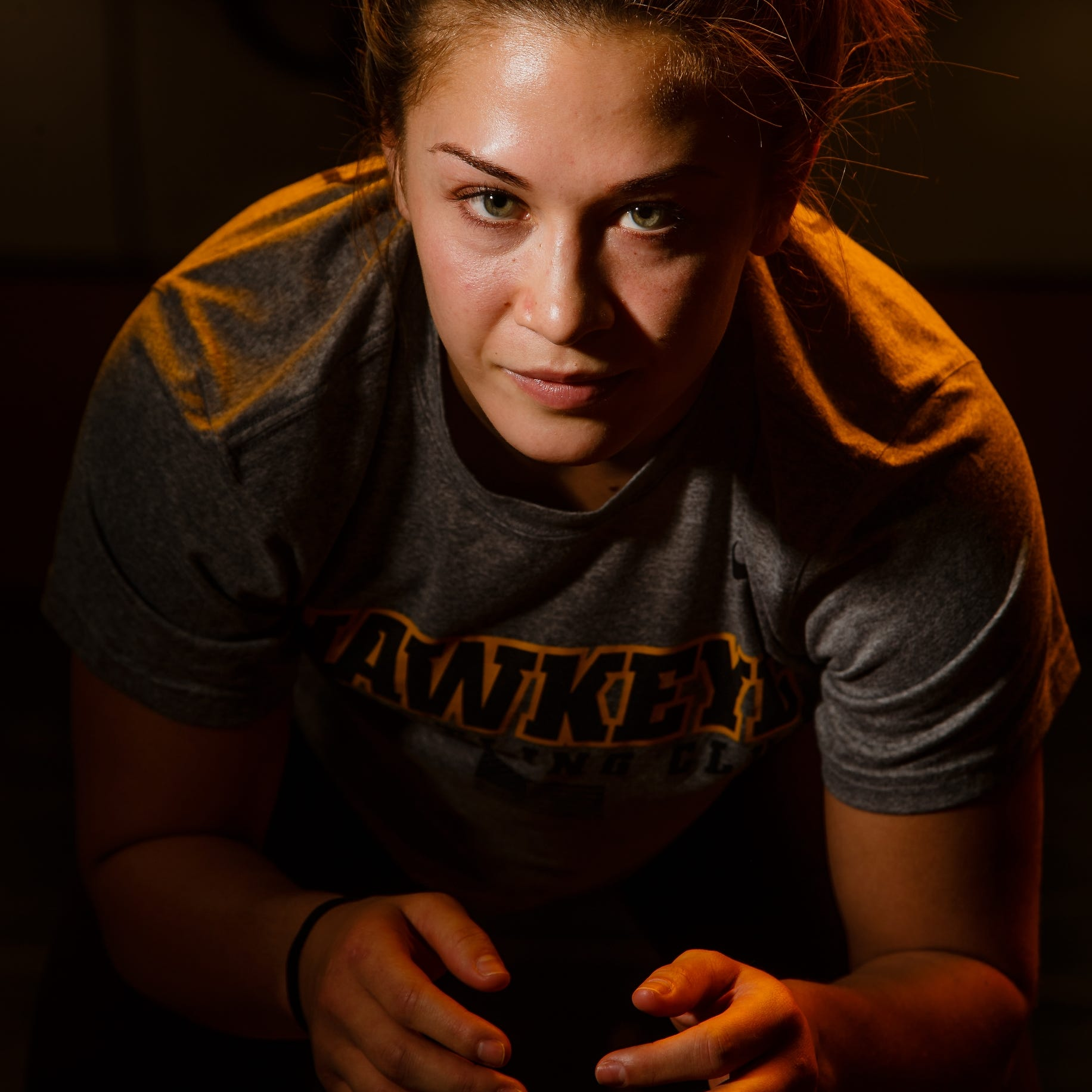 Inside Alli Ragan's rise in the Hawkeye Wrestling Club to a two-time world silver medalist