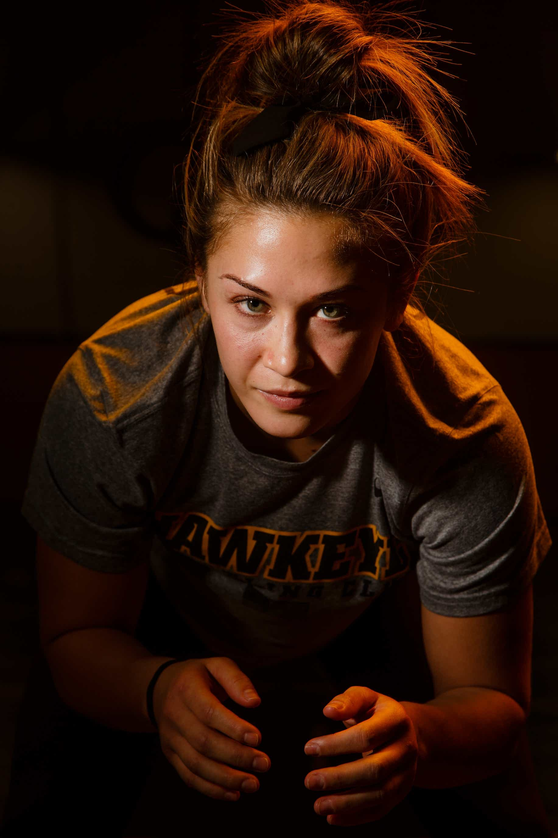Inside Alli Ragan's rise in the Hawkeye Wrestling Club to a two-time