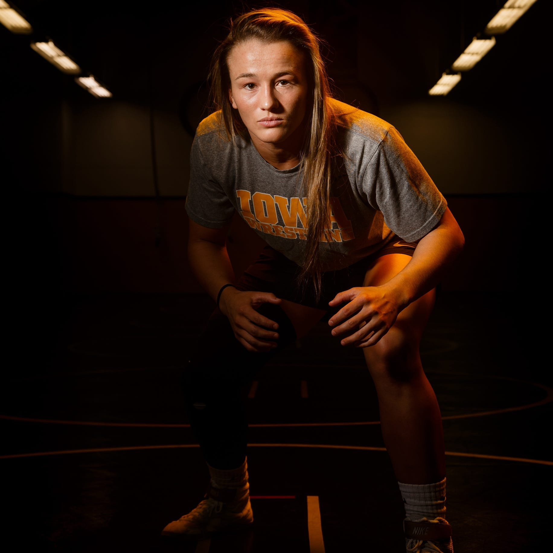 Meet Forrest Molinari, member of the Hawkeye Wrestling Club and one of the country's best female freestyle wrestlers