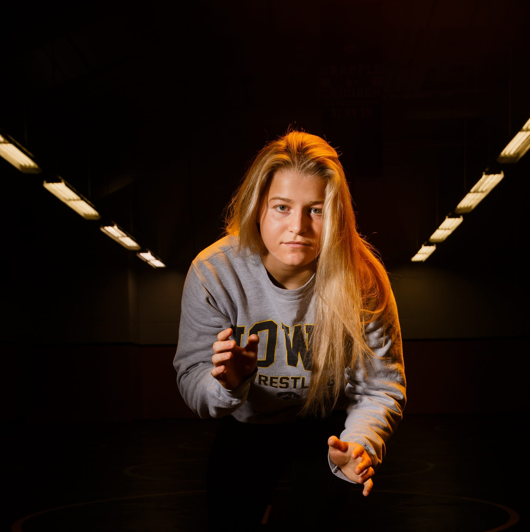 Why Hawkeye Wrestling Club's Michaela Beck skipped college to chase her wrestling dreams