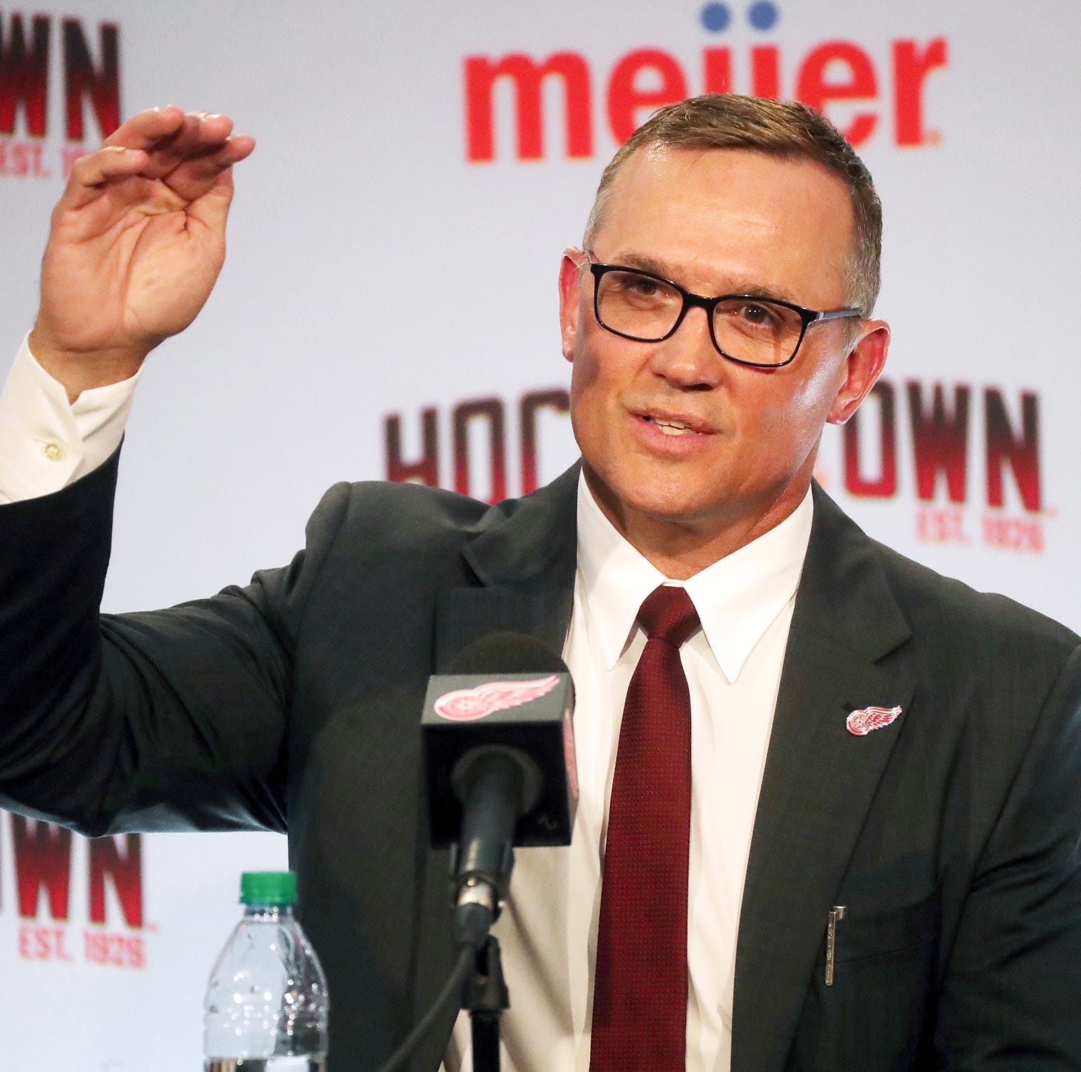 Steve Yzerman ready to go as Detroit Red Wings GM: 'I don't want to fail'