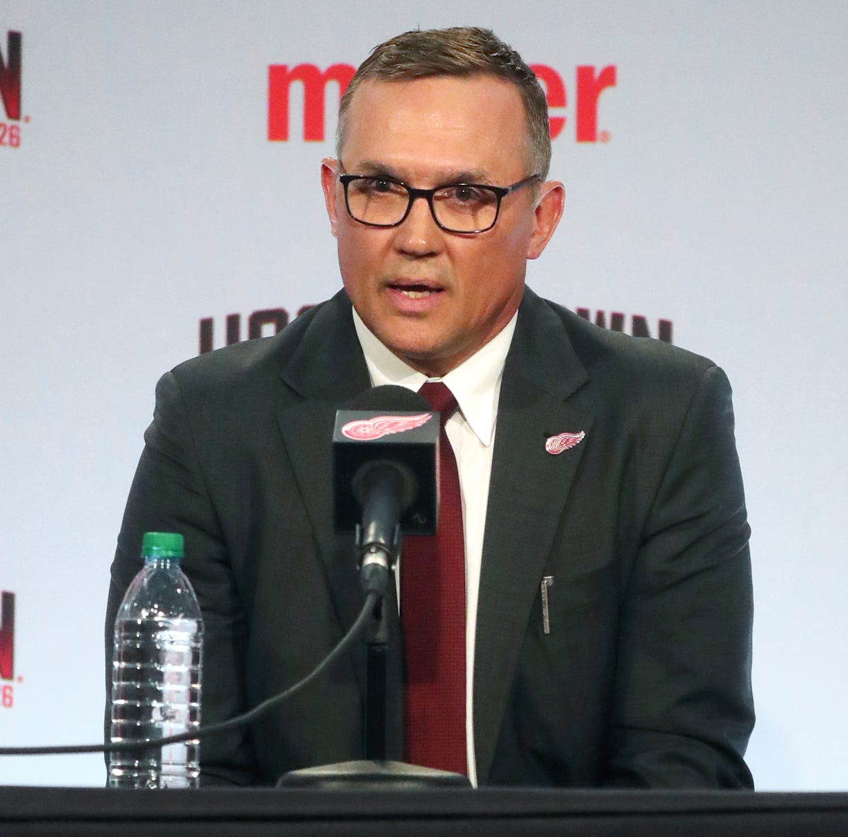 Steve Yzerman, once unrecognized in Detroit, knows 'I have a lot of work to do'