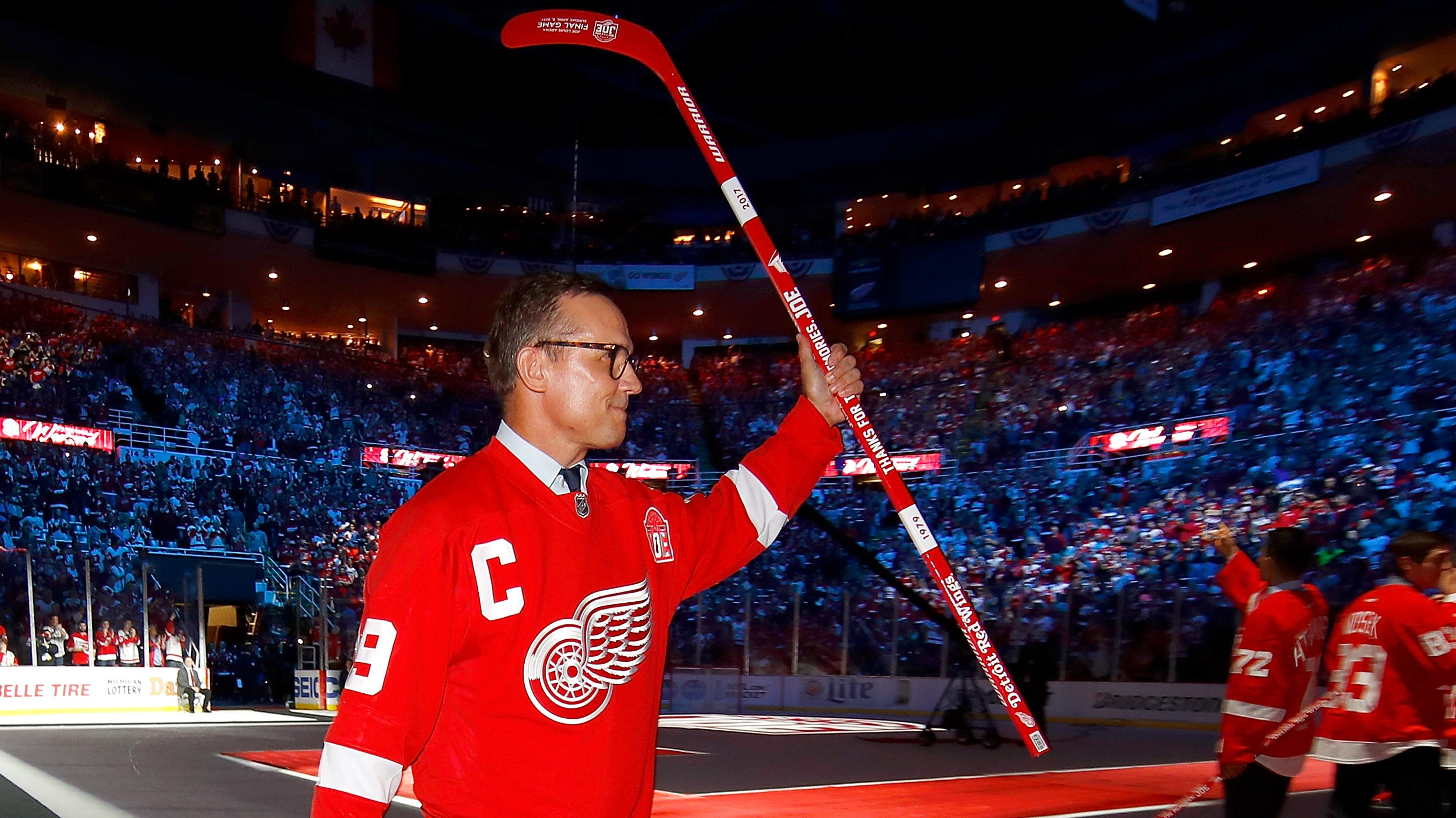82397435ff5 Steve Yzerman will be Detroit Red Wings GM