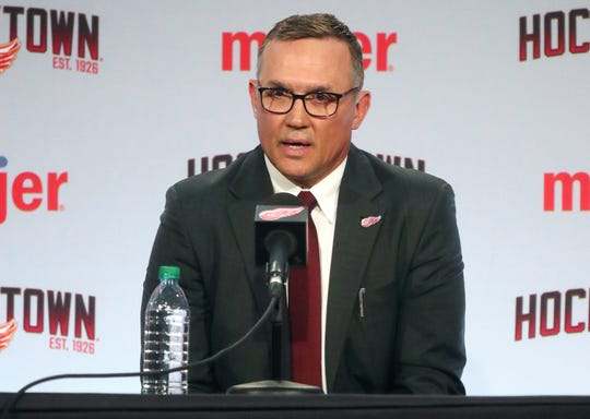 Steve Yzerman enters his first draft as the top decision-maker for the Red Wings.