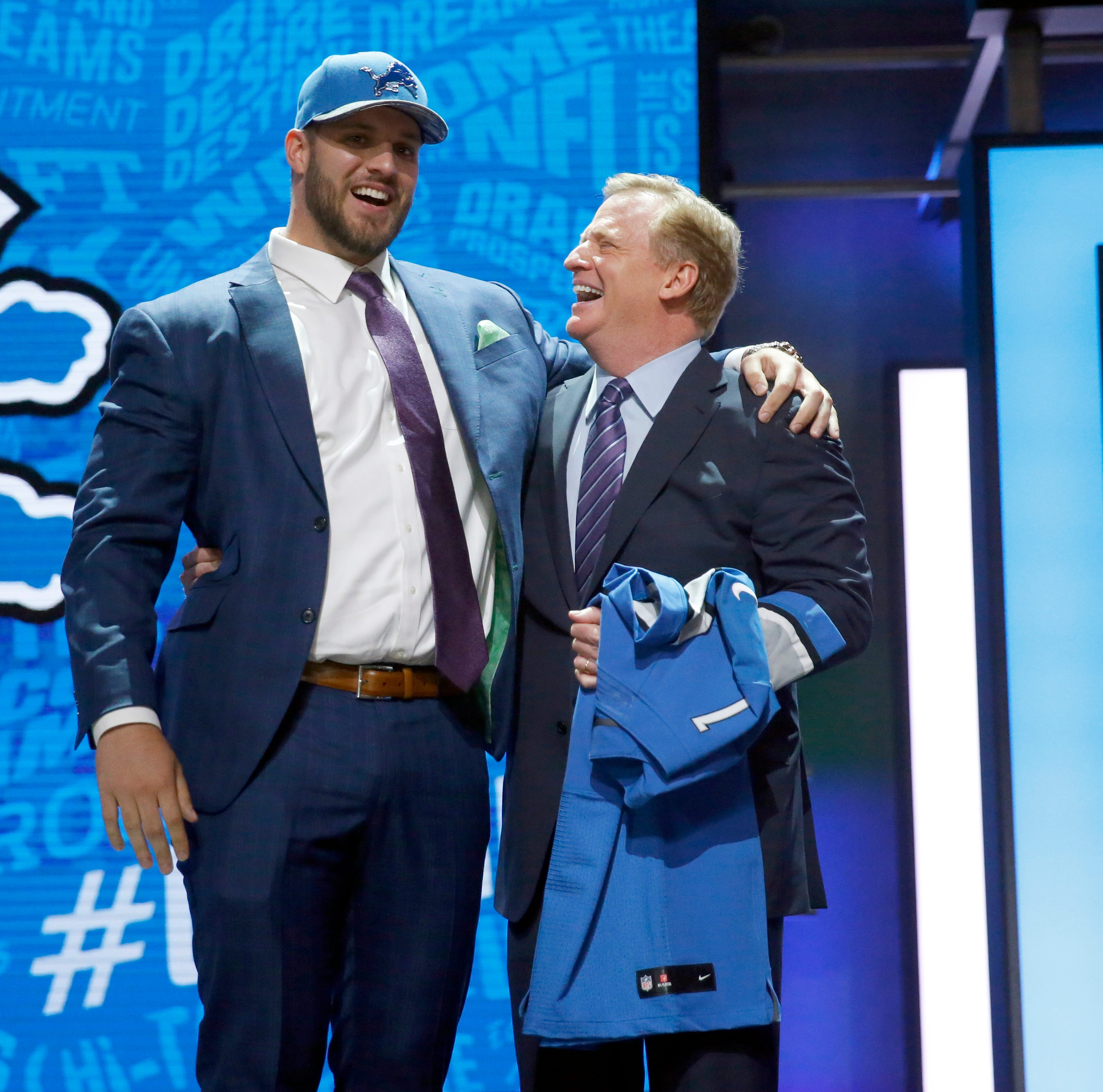 Detroit Lions pick up OT Taylor Decker's 5th-year option