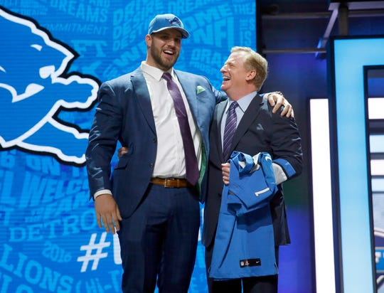 Detroit Lions general manager Bob Quinn's desire to trade down in Round 1 is real, so I thought I'd try and incorporate some trades into this, my penultimate mock draft. Here goes: