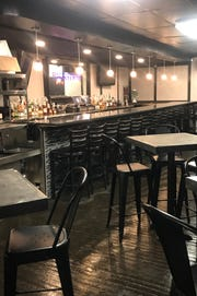 A view of the bar at the new Backstreet Multiplex at Large on Livernois Avenue. The new site is expected to open either the second or third week of May.