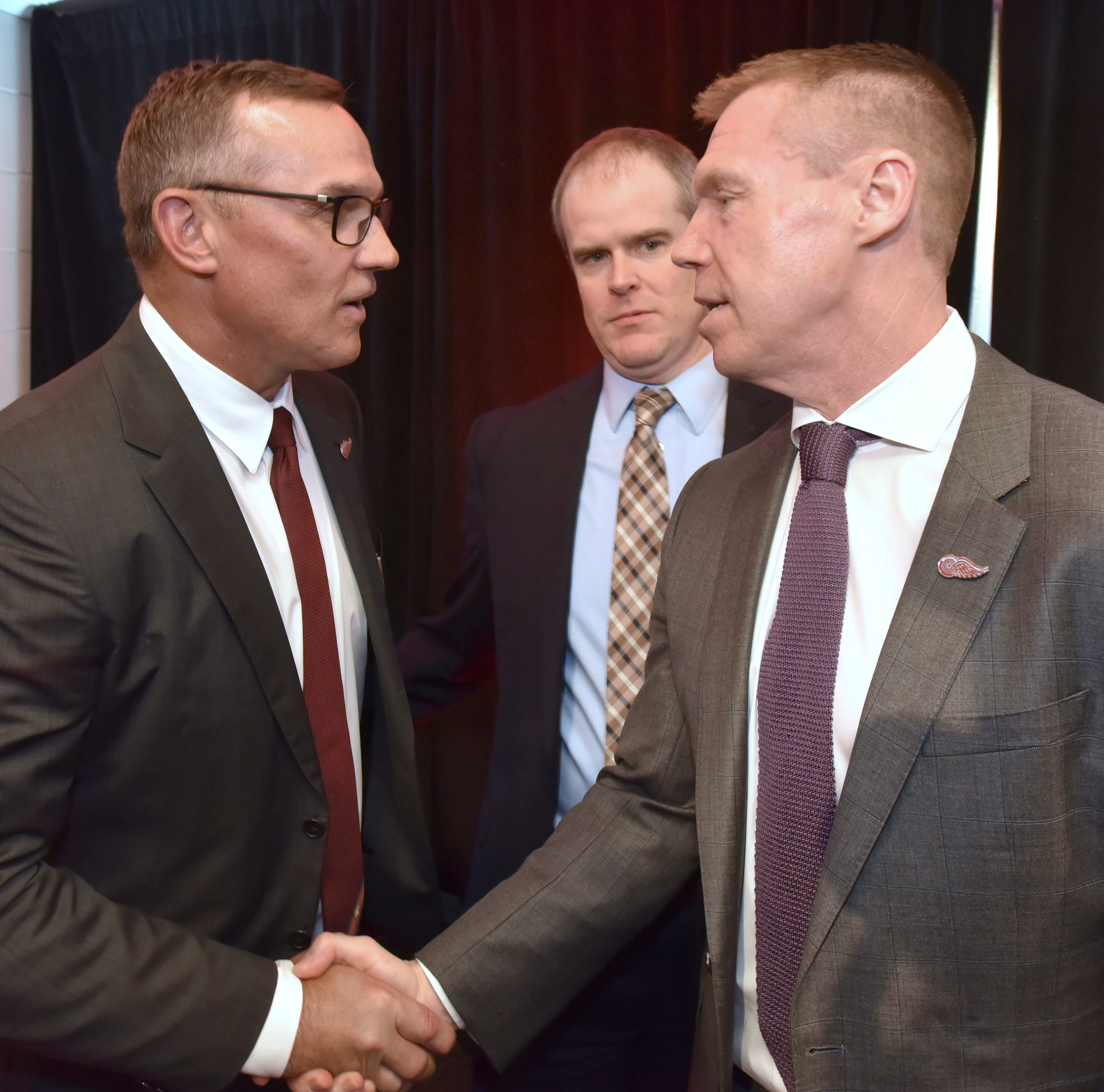 Former Red Wings teammates excited about Steve Yzerman's return
