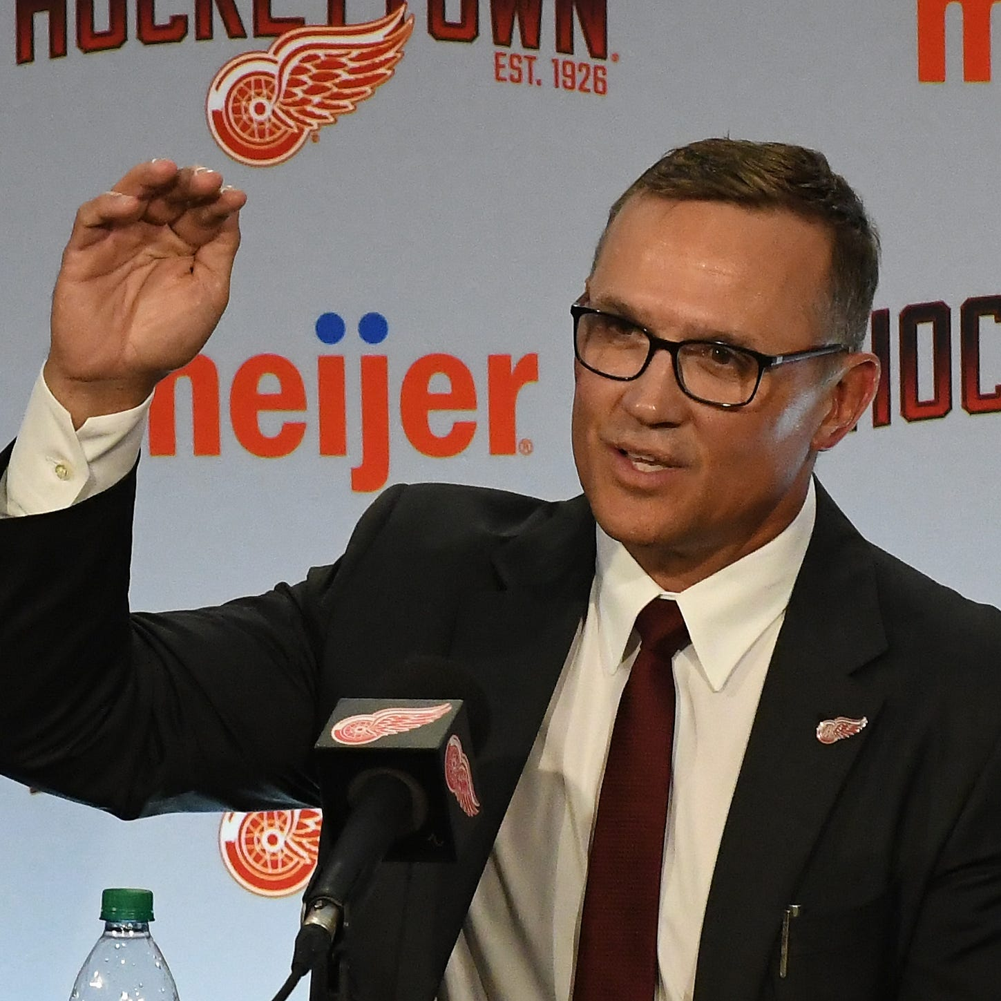 The Captain's back! Steve Yzerman comes full-circle as Red Wings' new GM