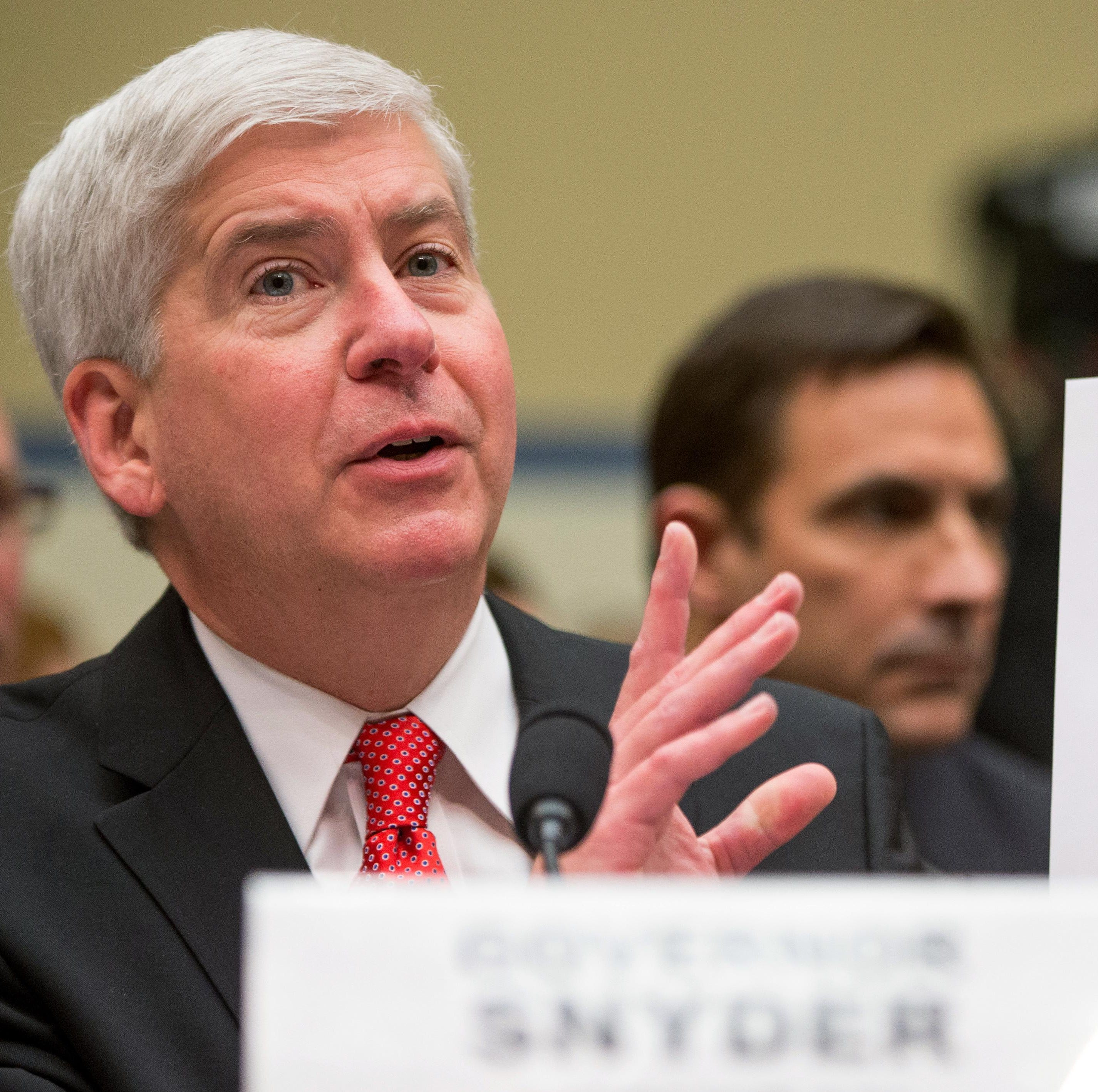Nessel's office appeals Flint ruling for new client: Rick Snyder