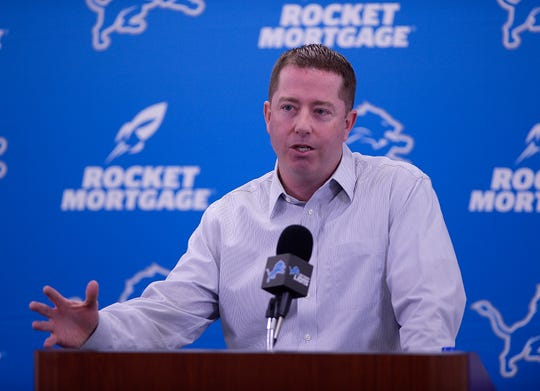 What Lions GM Bob Quinn does with the No. 8 pick is still anyone's guess at this point.