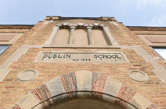 Dublin Elementary School, built in 1928, is set to be replaced by a new building if voters approve a $316 million bond issue for Walled Lake schools on the May 7 ballot.