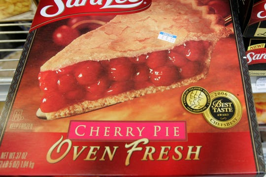A frozen cherry pie in a store's freezer in Palo Alto, Calif. In 2019, the Food and Drug Administration is preparing to propose getting rid of a federal standard for frozen cherry pie, which say the products must be at least 25% cherries by weight.