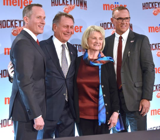 Ken Holland was given a senior vice-president role and a contract extension when Steve Yzerman was hired as general manger in April.