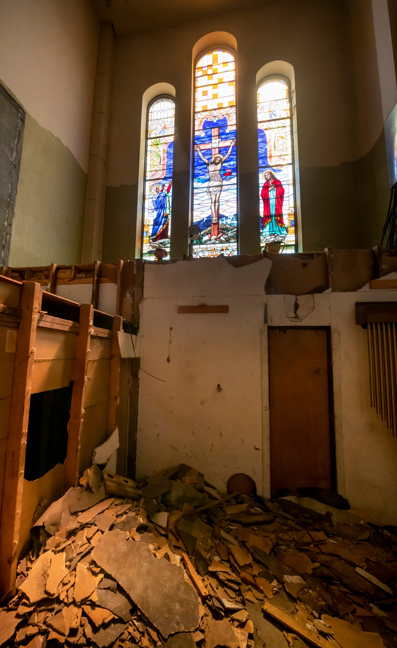 St Josaphat Loses An Organ Regains A Window