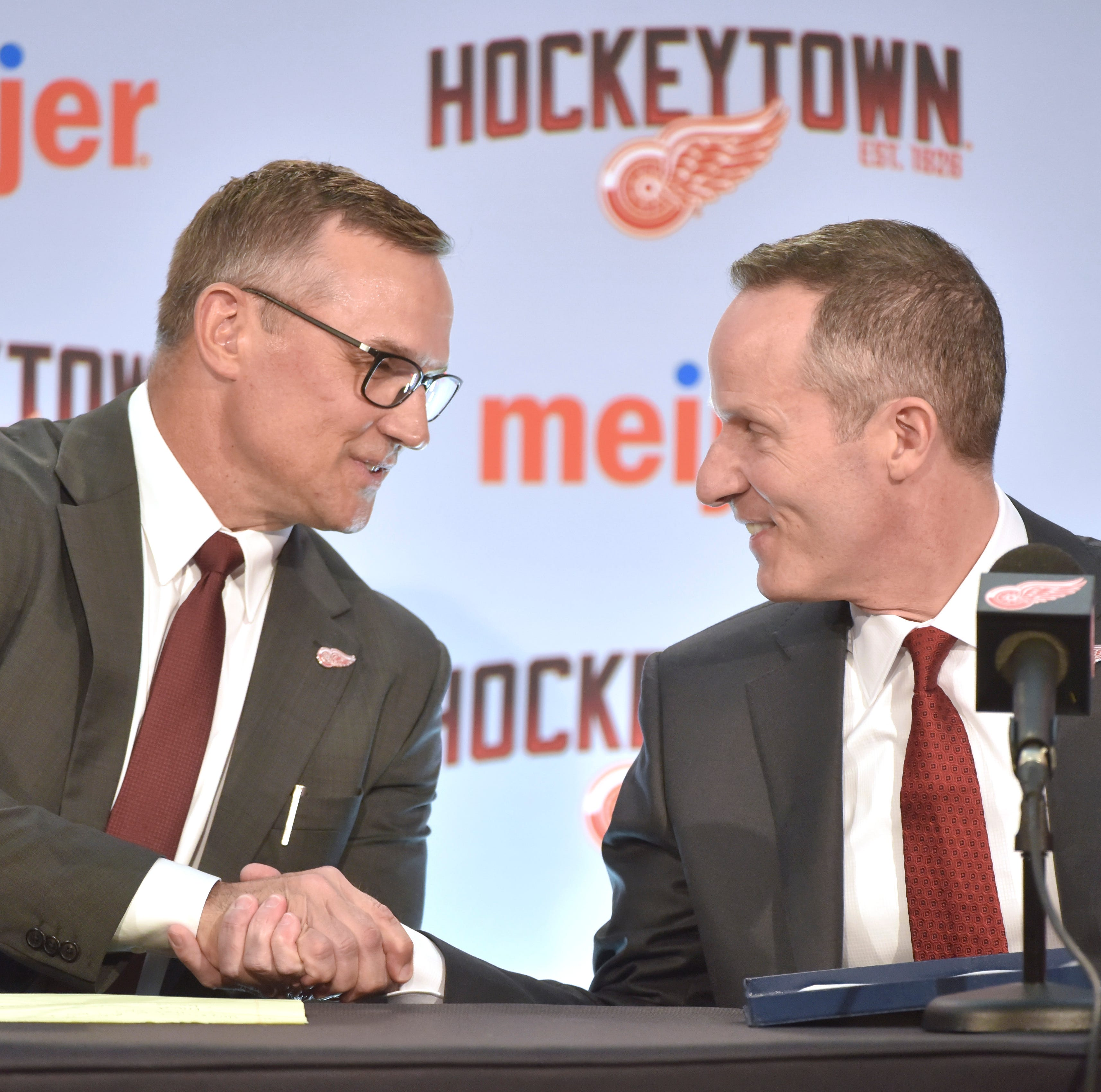 Wojo: Steve Yzerman is back where he belongs