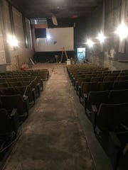 The interior of the Shores Theatre, which has been closed for more than a decade in St. Clair Shores.