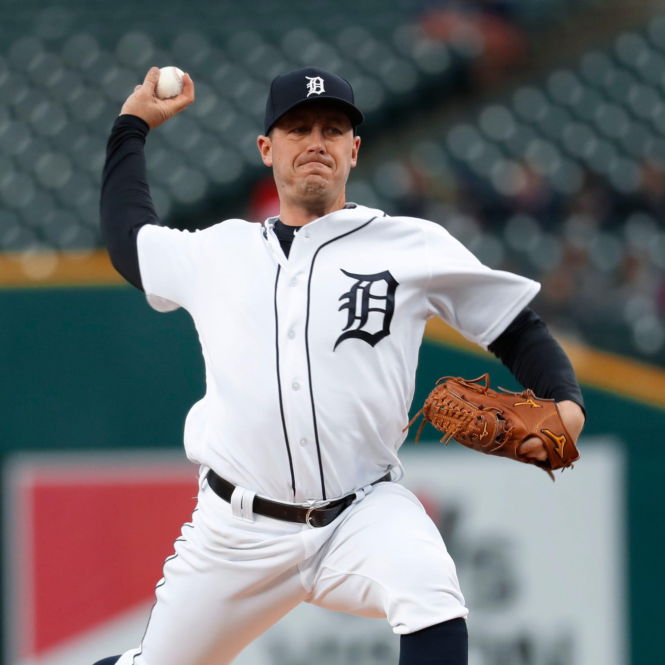 Jordan Zimmermann loses control, Tigers tumble below .500