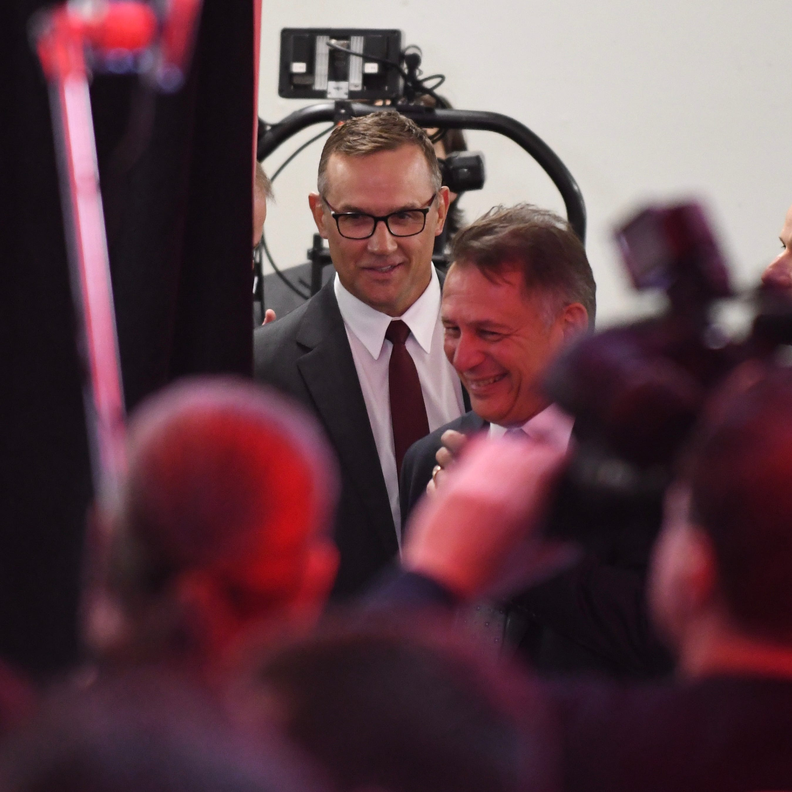 Red Wings introduce Steve Yzerman as GM: 'There's a lot of work to be done'