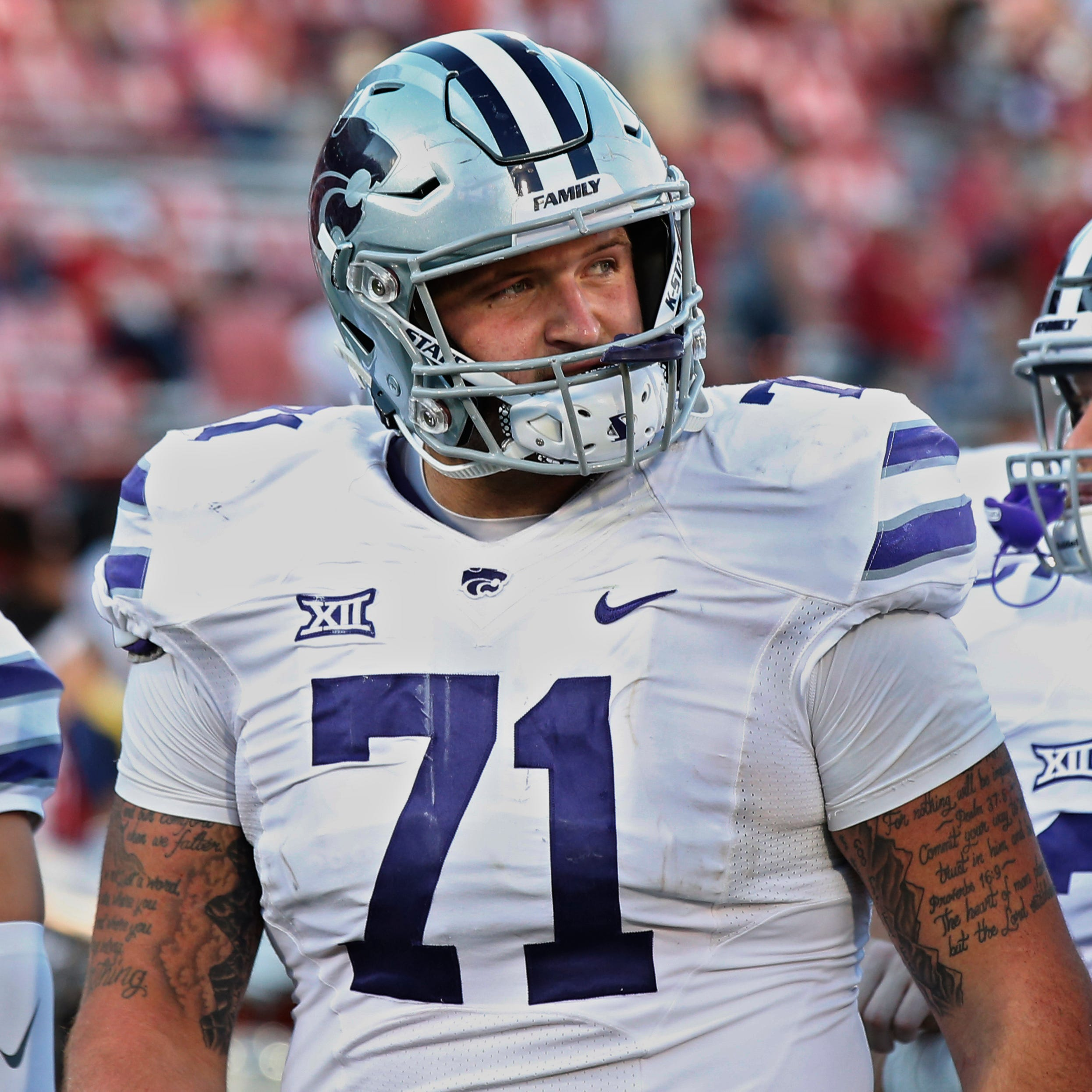 Lions put in extra work scouting offensive line prospects this season