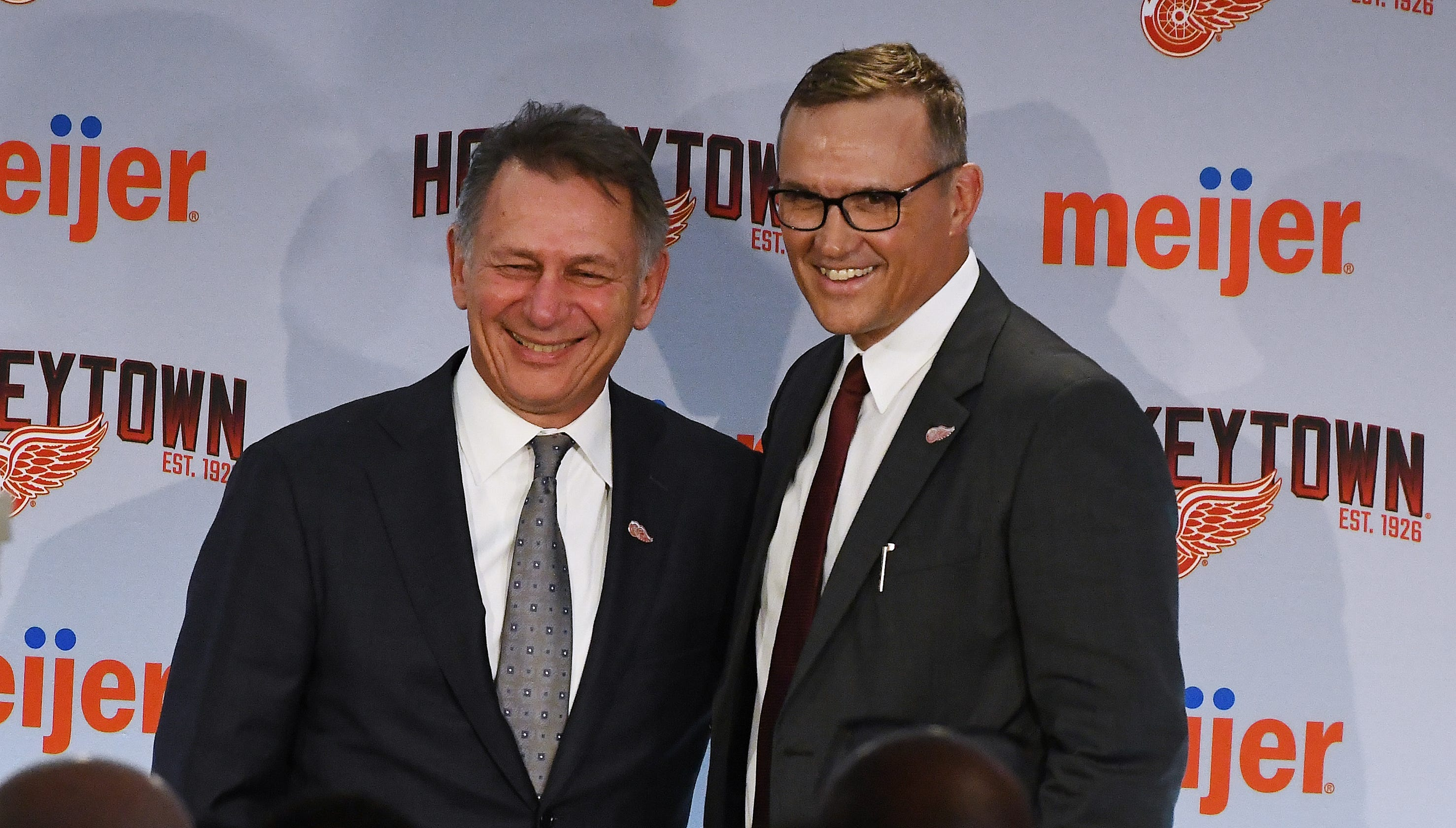 Holland praised for selflessness moving aside for Yzerman's