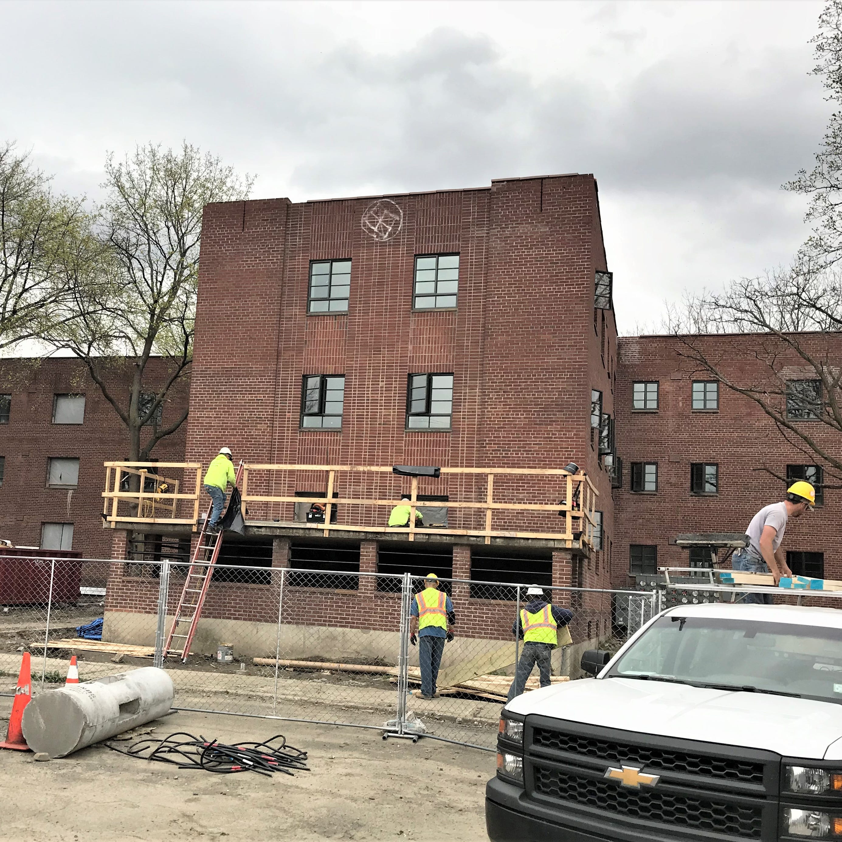 Former Jones Court Apartments in Elmira nearly ready for rebirth