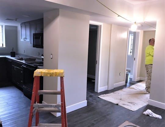 Work is nearing completion on the 90-plus apartments inside Libertad, the former Jones Court apartment complex in Elmira.