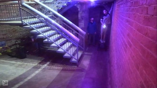 High Score Saloon on Main Street is asking for the public's help in locating two suspects who jumped the gate and stole from their facility.