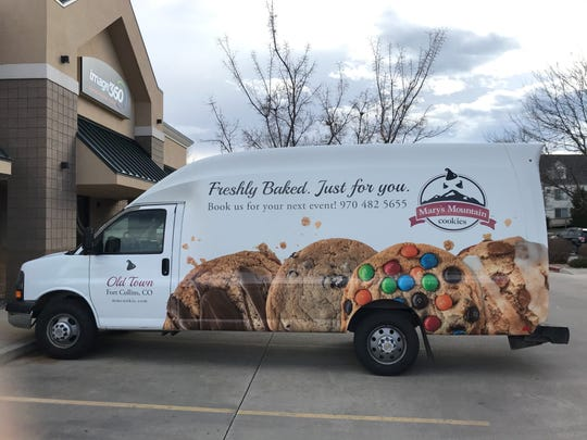 Mary's Mountain Cookies is launching a mobile cookie truck this year from its Old Town store.