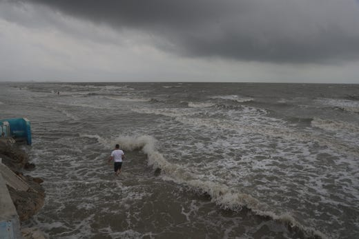 What do Friday afternoon's high winds and rainstorms bode