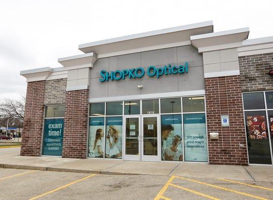 The Shopko Optical store in Oshkosh.