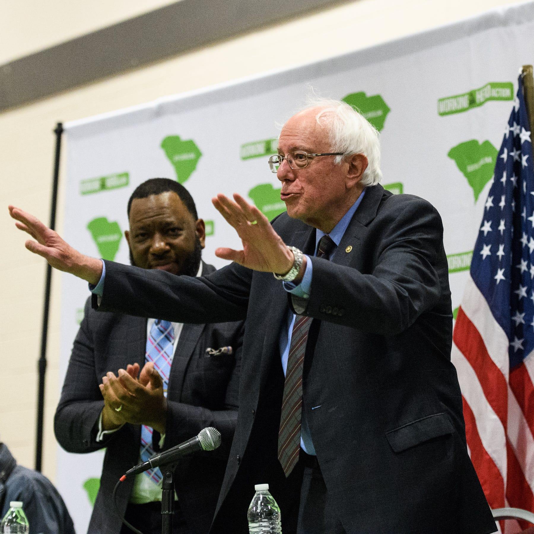 Bernie Sanders offers 3 ideas to help battle gentrification while in Greenville