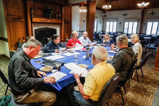 The Indianapolis Yacht Club board meets at the Yacht Club, located on Geist Reservoir, 12900 Fall Creek Rd., on Thursday, April 18, 2019.