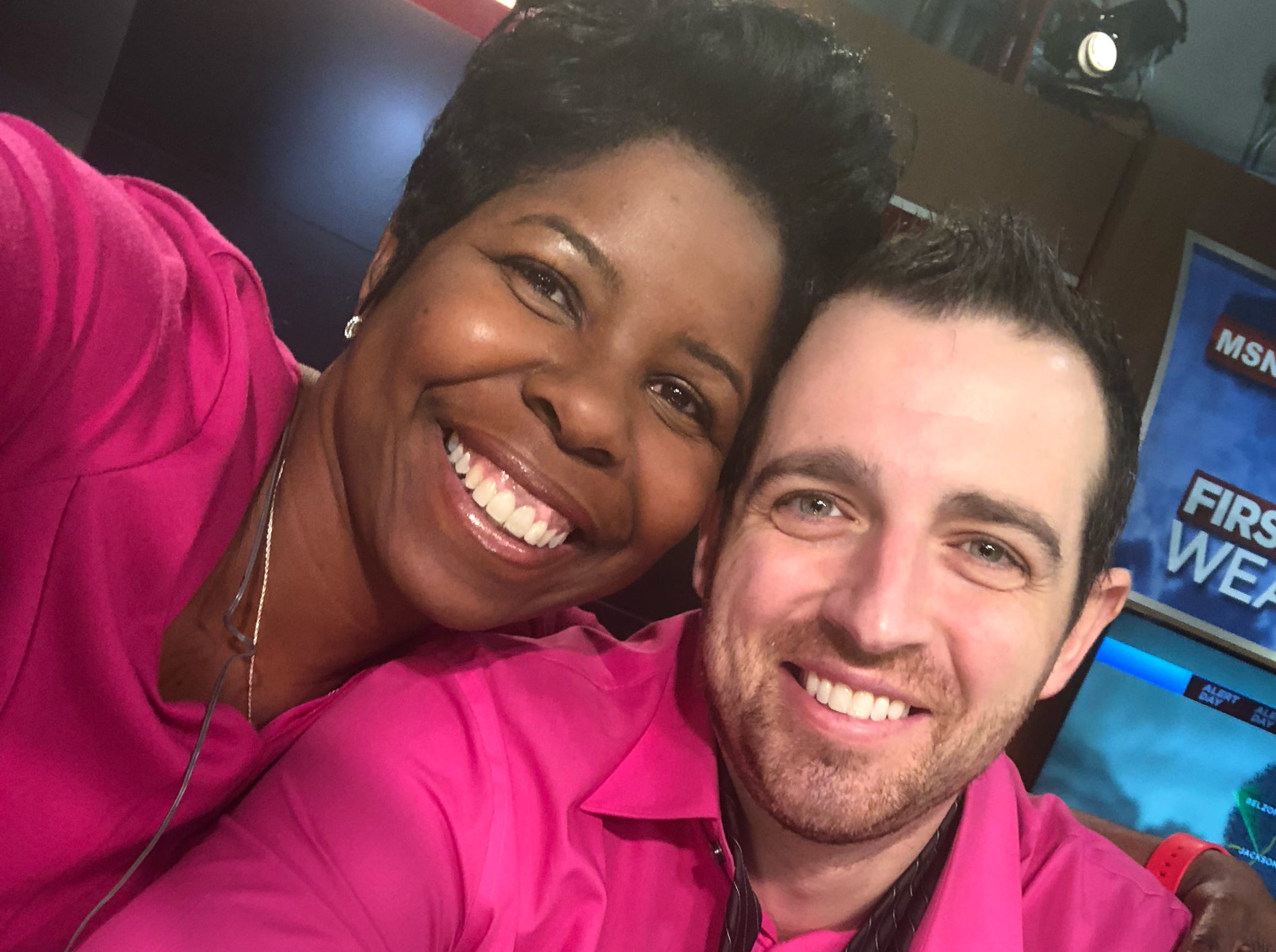 WDBD Fox 40 anchor Mike Sands says co-anchor Melissa Faith Payne has been his constant support throughout his battle with cancer but never treating him differently than she had before he he was diagnosed.