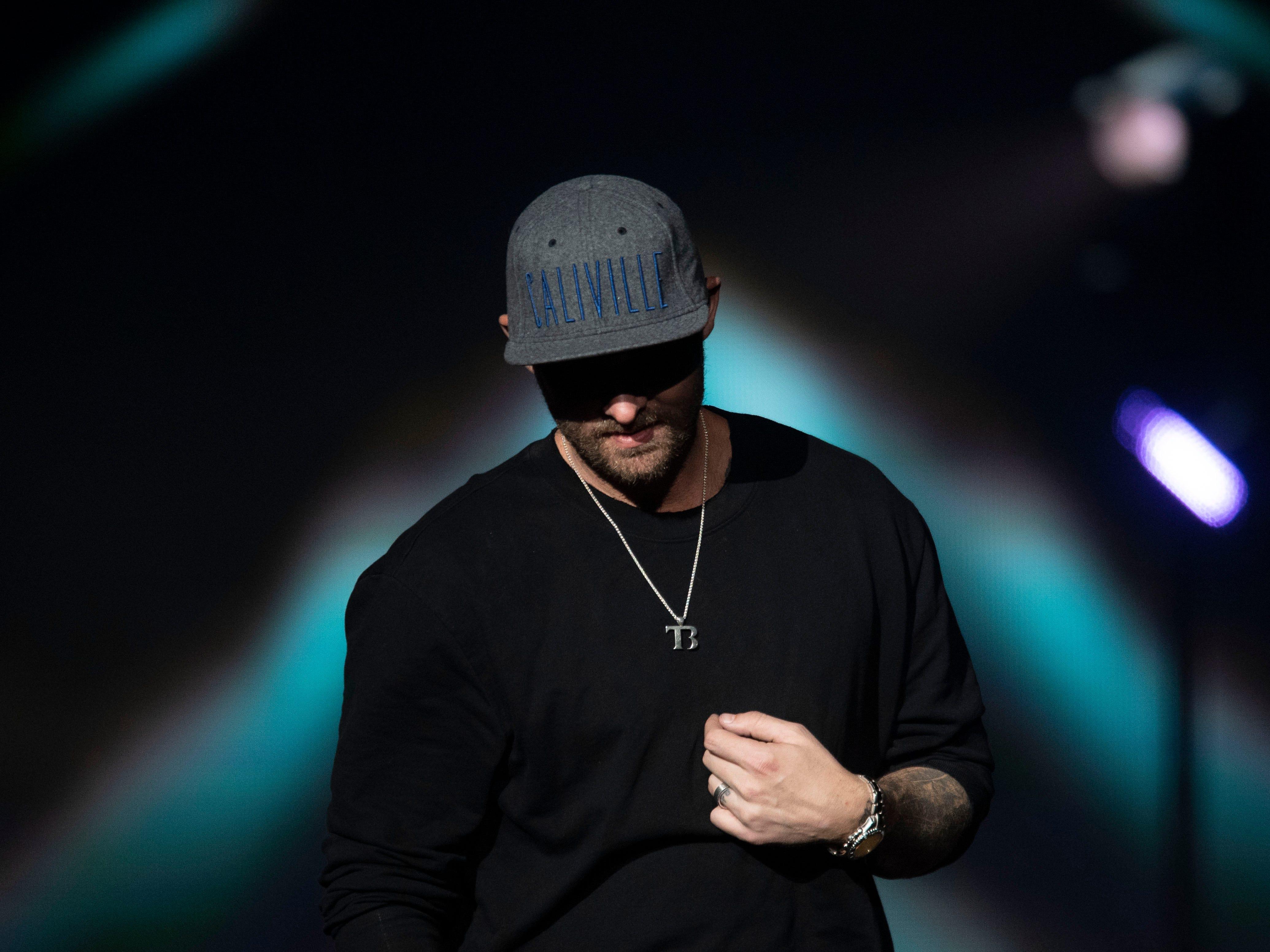 Brett Young opens for Kelsea Ballerini at the Civic Coliseum on Thursday, April 18, 2019.