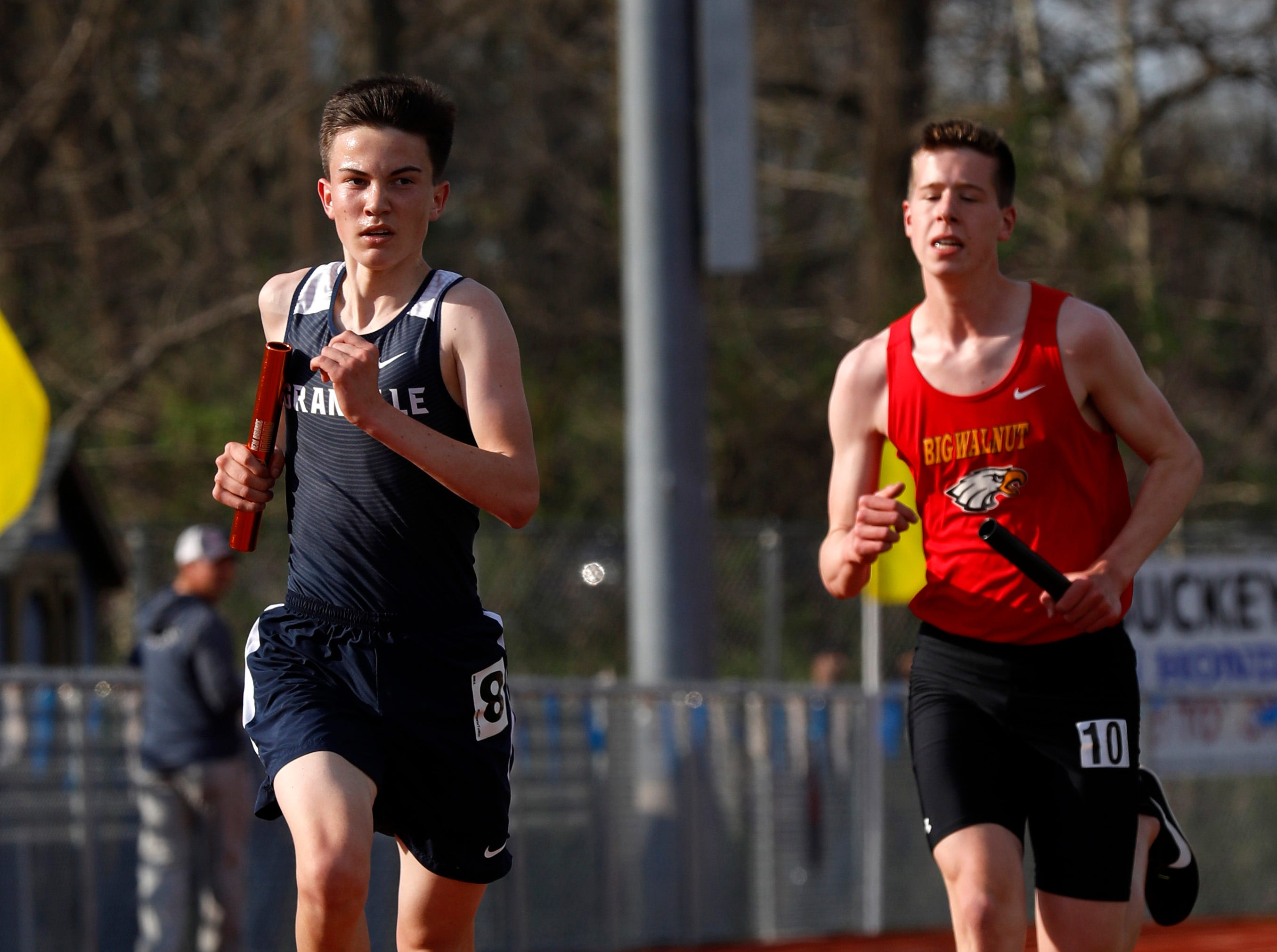 Lancaster, Watkins Memorial and Granville were among the teams the took part in the 53rd annual Fulton Relays Thursday, April 18, 2019, at Lancaster High School in Lancaster.