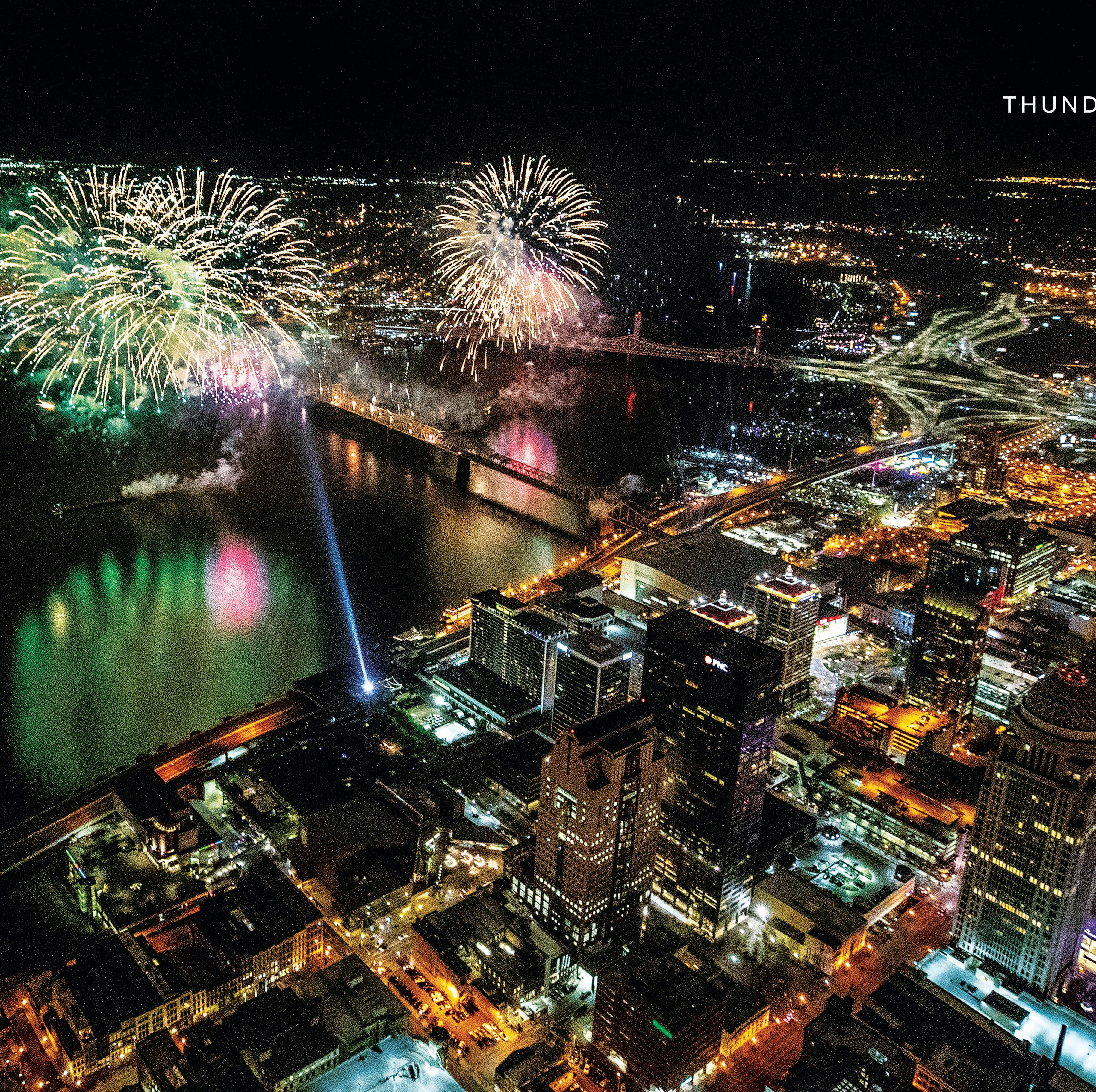 Keep the amazing action from Thunder Over Louisville 2019 with a special edition poster